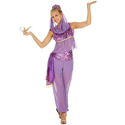 TecTake Frauenkostüm Zauberhafte Orient Lady | Orientalische Verkleidung | Verspieltes Oberteil und Pump Hose | inkl. Kopfschmuck (L | Nr. 300987)