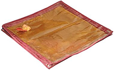 Srajanaa Saree Cover, Premium Saree Pouch - Set of 2 (to Keep 1 Heavy or 2 Normal Saree per Cover)