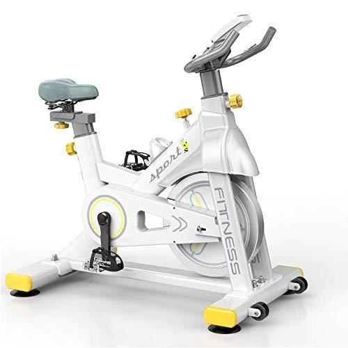 FGONG Bicicletta da Ciclismo Indoor Stazionaria - Cyclette con Trasmissione A Cinghia A Resistenza Magnetica, Elevata capacità di Carico, Volano per Servizio Pesante Standard Commerciale