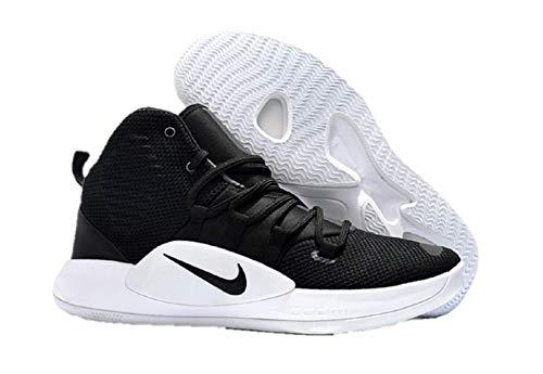 Nike Men's Hyper Dunk X(Team) Basketball Shoe,Black/Black-White, 10.5
