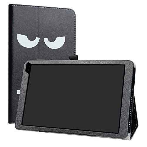 """Barnes & Noble Nook 10 (BNTV650) Tablet Case,LiuShan PU Leather Slim Folding Stand Cover for 10.1"""" Barnes & Noble Nook 10 (BNTV650) 10.1-inch Android Tablet PC,Don"""