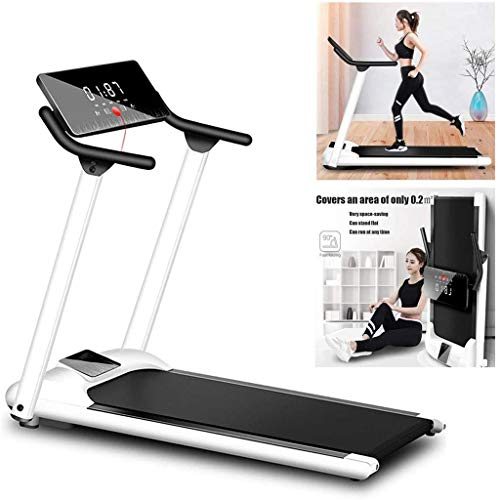 Read About zxcvb Treadmill Electric Portable Space Saving Running Machine 16 Inch Wide Tread Belt Wa...