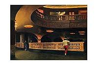 エドワードホッパーシェリダンシアターリビングルームの寝室の絵画のキャンバスの壁の芸術寝室のアートワークの壁の写真家のポスターの印刷(25x38cm(10x15inch)、フレームレス)