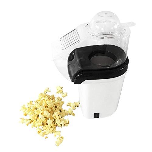 Popcorn-Maschine Heißluft-Popcorn-Popper + Popcorn-Hersteller mit Messbecher zum Messen von Popcorn-Kernen + Schmelzbutterweiß (EU Pl | Popcorn-Hersteller | |