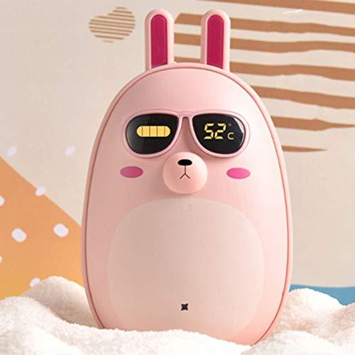 Stool Cargador portátil USB de mano para exteriores, cargador portátil, batería externa de emergencia, compatible con smartphone, tablet, el mejor regalo para novia, color rosa