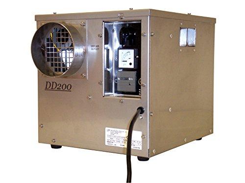 Ebac 10502ss-Us Industrial Desiccant Dehumidifier Dd200, 7.5 Amps, 800w, 36 Pints