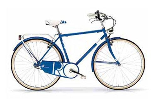 "MBM R I V I E R A, Bici Pieghevole Uomo, Blu A03, 28"""
