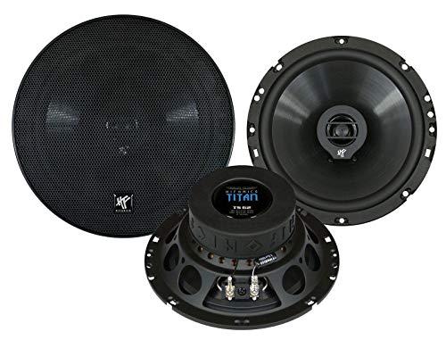 Hifonics TS62XLR 180W Auto-Lautsprecher–KFZ-Lautsprecher (XLR, 180W, 90W, 4Ohm, 14,5cm, 13cm)