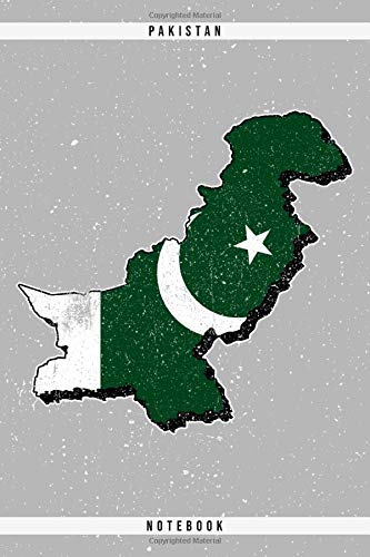 Pakistan. Notebook: Dotted Notebook with 120 pages. Cool illustration with the pakistani map and flag. Ideal to write down important things