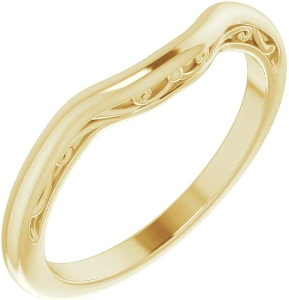 18kt Regular store Yellow trend rank Gold 9mm Cushion Size Wedding Band in 7