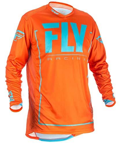 Fly Racing Jersey Lite Hydrogen Orange Gr. XL