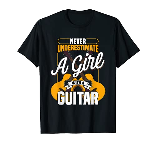 Niños guitarra musical eléctrica linda juventud Camiseta