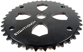 Eighthinch Splined Chainring BMX/Freestyle 41t High Polish Silver