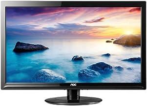 "AOC 24"" 1080p Slim LED Monitor, 24"""