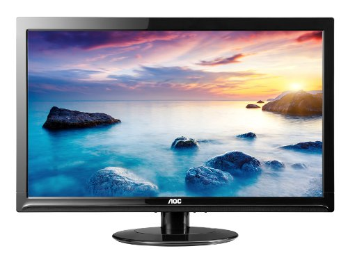"AOC 24"" 1080p Slim LED Monitor, 24"""