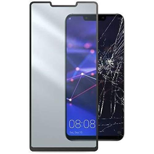 cellularline TEMPGCABMATE20LK Second Glass Capsule–Resistente in Vetro temperato, Pellicola Protettiva con Cornice per Huawei Mate 20Lite