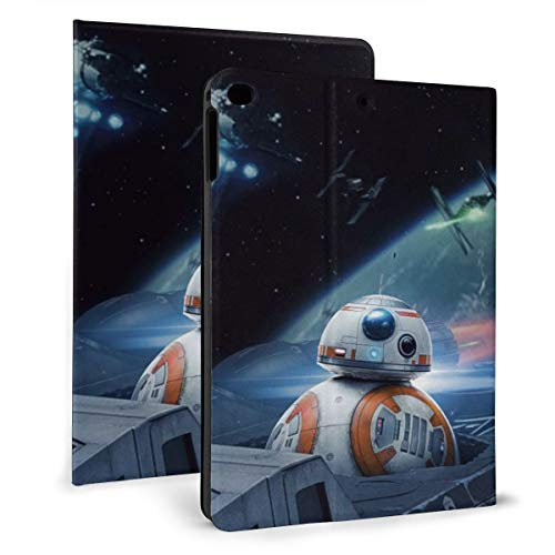 Star War The Last Jedi Orbot PAD 9.7 Case For 2018 2017 / PAD Air 1/2 Cover Auto Wake/Sleep For Apple PAD 9.7 Inch 6th / 5th Pu Leather Shell Stand Smart Slim.