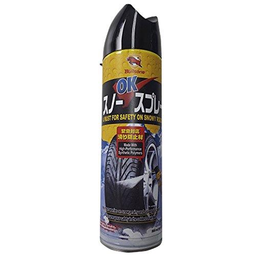 GUP(ジーユーピー) BULLSONE スノーOKスプレー (自動車・バイク・自転車・靴) 雪・雨道滑り止め用