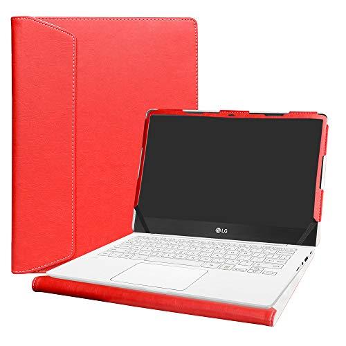 Alapmk Protective Case for 13.3' LG Gram 13 13Z970 13Z980 13Z990 & ASUS ZenBook Flip S UX371EA/ASUS ZenBook Flip 13 UX363JA Laptop(Warning:Not Fit LG Gram 13 13Z960/13Z950),Red