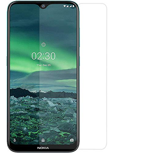 ZIVITE Premium Gorilla High Transparency Air Bubble Proof Tempered Glass Screen Protector for Nokia 2.3