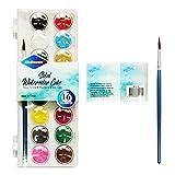 Hey Caterpillar Pintura/Pigmento Pintado a mano Pintura de color de 16 colores de acuarela sólida