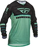 Fly Racing 2020 Kinetic Jersey - K120 (SAGE Green/Black) (Small)