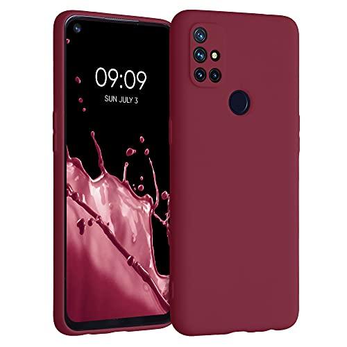 kwmobile Hülle kompatibel mit OnePlus Nord N10 5G - Hülle Handyhülle - Handy Hülle in Tawny Red