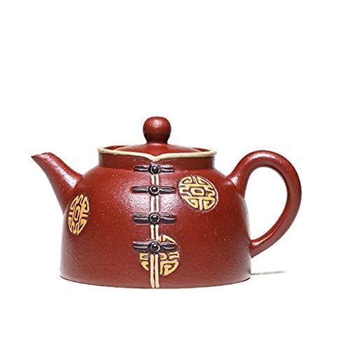 XueQing - Tetera de tetera hecha a mano para disfraz o dahongpao rosso