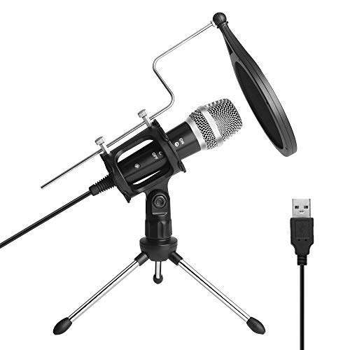 ARCHEER Microphone USB Micro PC Plug & Play...