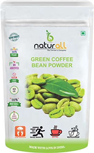 B Naturall Green Coffee Beans Powder Arabica Grade – AAA (Unroasted & Decaffeinated Coffee) for Weight Loss | Weight Management – 200 GM by B Naturall