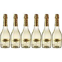 Don Luciano Chartmat Vino Espumoso Natural, Volumen de Alcohol 7% - 6 Botellas x 750 ml - Total: 4500 ml