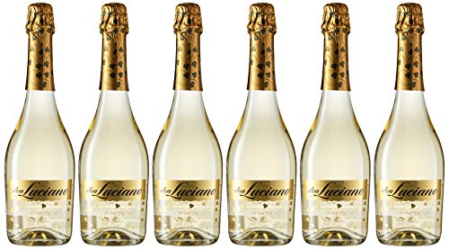 Don Luciano Chartmat Vino Espumoso Natural - Pack de 6 Botellas x 750 ml