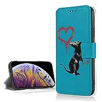 Iphone XR ケース バンクシー Icカード収納 レザーケース 高級puレザー おしゃれ かわいい 軽量 便利 スタンド機能 耐衝撃 滑り防止 携帯カバー カメラ保護 傷防止 6.1インチ