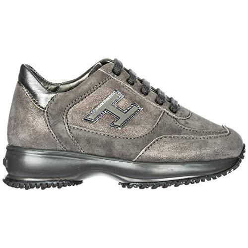.Hogan Sneakers Interactive Bambino catrame Piombo 31 EU