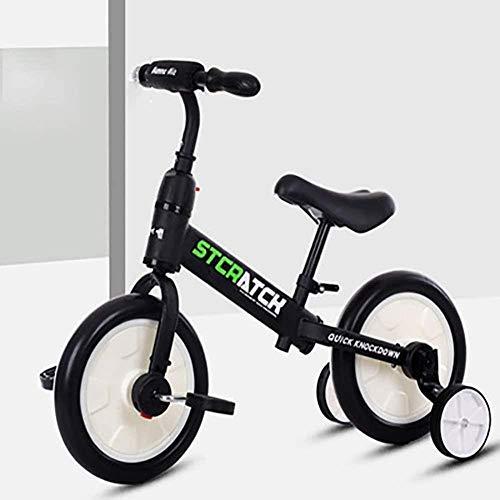 XINGDONG Pedal del Triciclo Niños Niños de Bicicletas 2-6 años Edad niñas de Bicicletas de Acero al Carbono de Alta Carro de bebé B, Color: D Durable (Color : A)