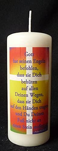 """Tafelkaars 150/60″Gott hat sein Engeln…"""""""