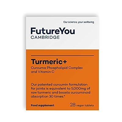 Turmeric+   Turmeric Tablets from FutureYou   28 Easily Absorbed Tablets   Highly Bioavailable Formulation   500mg Curcuma Phospholipid Complex   Meriva Advanced Turmeric Formulation