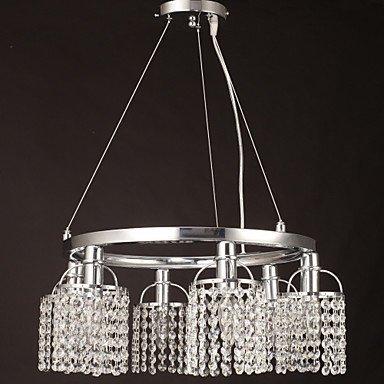 Kejing Moderne kroonluchter plafondverlichting hanger Max 40W kroonluchter Crystal Metal Living Room met 3C Ce FCC RVS voor woonkamer slaapkamer