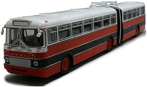 Ikarus 180 Gelenkbus (Articulated Bus) rot Weiß