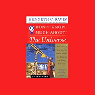 Don't Know Much About the Universe audiobook cover art