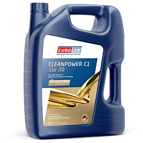 EUROLUB CLEANPOWER C1 SAE 5W-30 Motoröl, 5 Liter