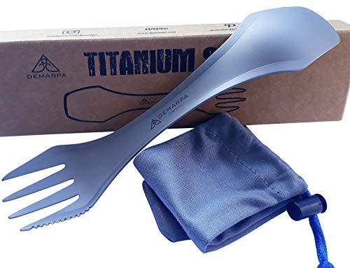 DEMARPA Titan Spork 3 en 1 (combinación de cuchara, tenedor