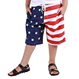 Julhold Jungen Kinder Schwimmen Juli 4 Unabhängigkeit Tag Trunk Amerikanische Flagge Badeshorts...