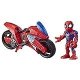 Super Hero Adventures Mega Mini Motorcycle Spiderman (Hasbro E7929ES0)
