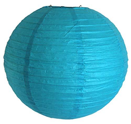 AAF Nommel®, 515, Lampion 1 Stk. Papier türkis mint unifarben japanisch rund Durchmesser 30 cm