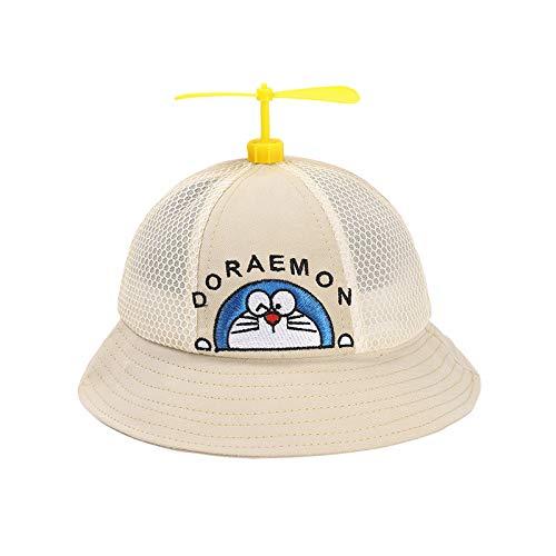 Sombrero para niños Verano Nueva versión Coreana del Gato Volador Sombrero de Red para bebé Sombra de libélula de bambú Sombrero de Pescador para niños Marea