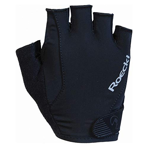 Roeckl Basel Fahrrad Handschuhe kurz schwarz 2020: Größe: 10.5