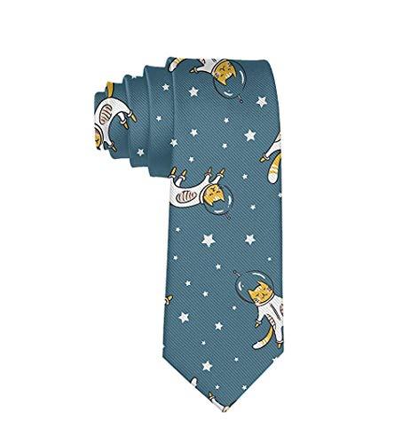 Accesorio de moda – Funny Bull Terrie corbata para hombre para fiesta...