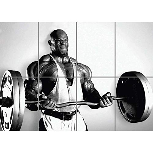 Doppelganger33 LTD Bodybuilding Ronnie Coleman Wall Art Multi Panel Poster Print 47x33 inches