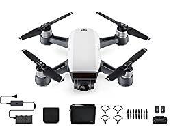 DJI Spark High-Performance Camera Amazing images and stabilized video Mechanical Gimbal Stabilization Shake-Free Shots